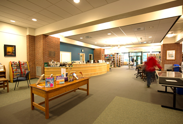 Hartness Circulation Desk