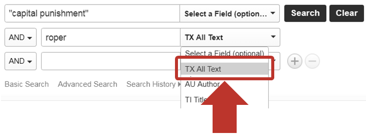 all-text search