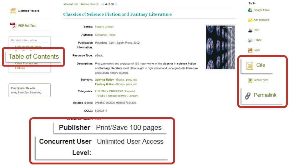 using EBSCO ebooks