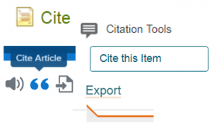 citation tool icons